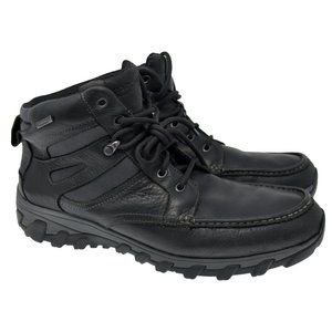 ROCKPORT Waterproof Adiprene Sz 11.5W Black Boots